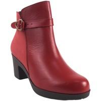 Zapatos Mujer Botines Bellatrix Botín señora  9575 rojo Rojo
