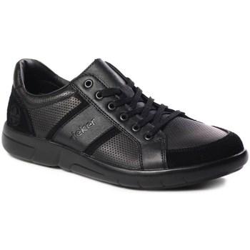 Zapatos Hombre Zapatillas bajas Rieker B271200 Negros
