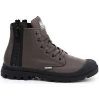 Zapatos Mujer Zapatillas altas Palladium Manufacture Pampa Ubn Zips Marrón