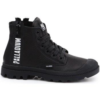 Zapatos Mujer Zapatillas altas Palladium Manufacture Pampa Ubn Zips Negros