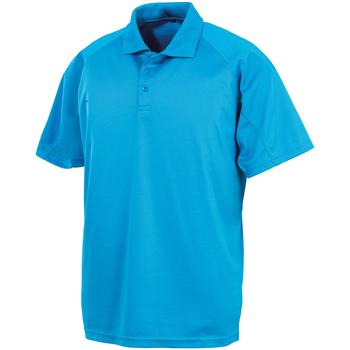 textil Polos manga corta Spiro SR288 Azul Océano