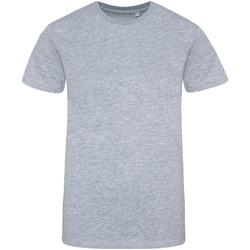 textil Hombre Camisetas manga corta Awdis JT100 Gris