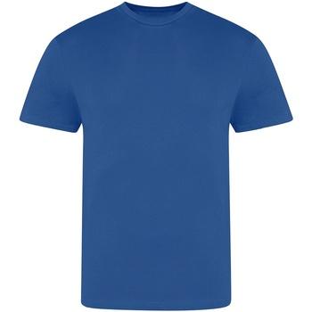 textil Hombre Camisetas manga corta Awdis JT100 Azul