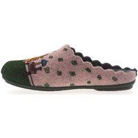 Zapatos Mujer Pantuflas Marpen Zapatillas de Casa  Salón Verde
