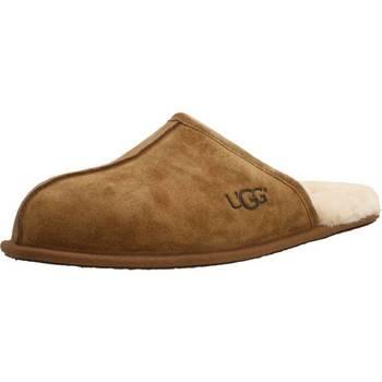Zapatos Hombre Pantuflas UGG SCUFF Marron