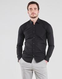 textil Hombre Camisas manga larga BOTD OMAN Negro