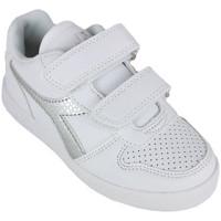 Zapatos Niña Zapatillas bajas Diadora playground ps girl c0516 Plata