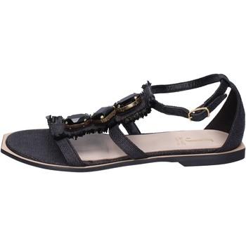 Zapatos Mujer Sandalias Jeannot BK788 Negro