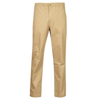 textil Hombre Pantalones con 5 bolsillos Polo Ralph Lauren PANTALON CHINO PREPSTER AJUSTABLE ELASTIQUE AVEC CORDON INTERIEU Beige