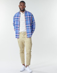 textil Hombre Pantalón cargo Polo Ralph Lauren SHORT PREPSTER AJUSTABLE ELASTIQUE AVEC CORDON INTERIEUR LOGO PO Beige