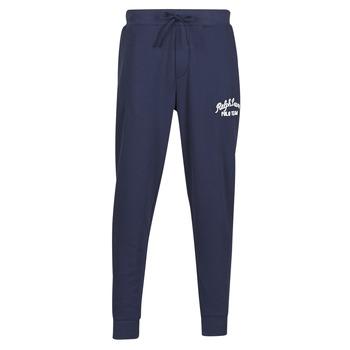 textil Hombre Pantalones de chándal Polo Ralph Lauren BAS DE JOGGING EN MOLTON POLO RALPH LAUREN SIGNATURE Marino