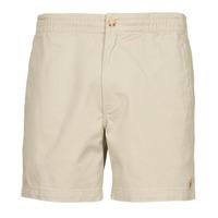 textil Hombre Shorts / Bermudas Polo Ralph Lauren SHORT PREPSTER AJUSTABLE ELASTIQUE AVEC CORDON INTERIEUR LOGO PO Beige