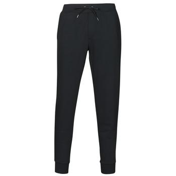 textil Hombre Pantalones de chándal Polo Ralph Lauren PANTALON DE JOGGING EN DOUBLE KNIT TECH LOGO PONY PLAYER Negro