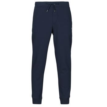 textil Hombre Pantalones de chándal Polo Ralph Lauren PANTALON DE JOGGING EN DOUBLE KNIT TECH LOGO PONY PLAYER Marino