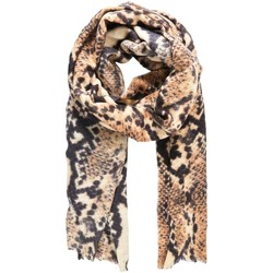 textil Mujer Corbatas y accesorios Pieces PCSNAKY LONG SCARF Beige