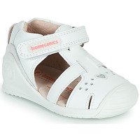 Zapatos Niña Sandalias Biomecanics 212104 Blanco / Plata