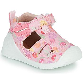 Zapatos Niña Sandalias Biomecanics 212212 Rosa