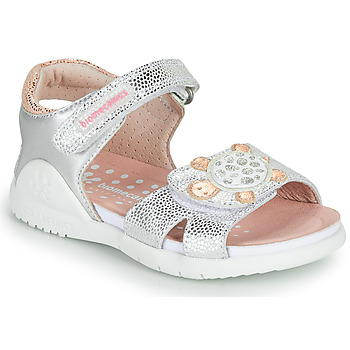 Zapatos Niña Sandalias Biomecanics 212172 Plata