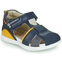 Zapatos Niño Sandalias Biomecanics 212187 Marino / Amarillo