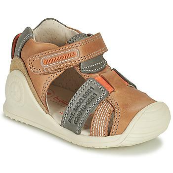 Zapatos Niño Sandalias Biomecanics 212135 Cognac