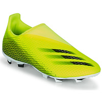 Zapatos Niños Fútbol adidas Performance X GHOSTED.3 LL FG J Amarillo / Negro