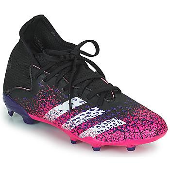 Zapatos Niños Fútbol adidas Performance PREDATOR FREAK .3 F Negro / Rosa
