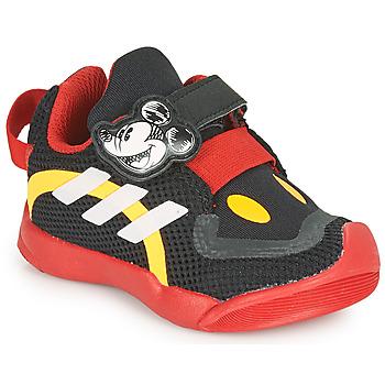 Zapatos Niños Zapatillas bajas adidas Performance ACTIVEPLAY MICKEY I Negro / Rojo