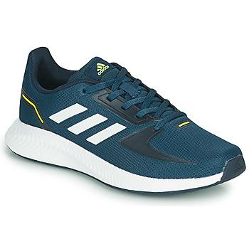 Zapatos Niños Zapatillas bajas adidas Performance RUNFALCON 2.0 K Marino / Blanco