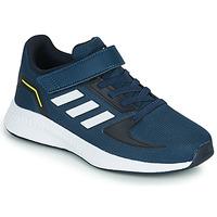 Zapatos Niños Zapatillas bajas adidas Performance RUNFALCON 2.0 C Marino / Blanco