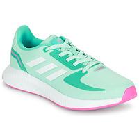 Zapatos Niña Zapatillas bajas adidas Performance RUNFALCON 2.0 K Turquesa / Rosa