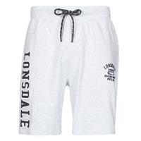 textil Hombre Shorts / Bermudas Lonsdale KNUTTON Gris