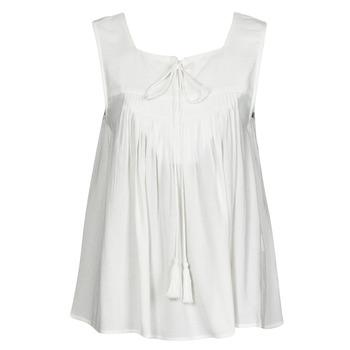 textil Mujer Camisetas sin mangas See U Soon 21111205B Blanco