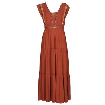 textil Mujer Vestidos largos See U Soon 21121116 Rojo