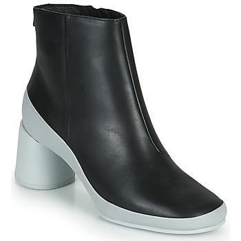 Zapatos Mujer Botines Camper UPRIGHT Negro / Blanco