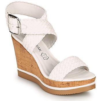 Zapatos Mujer Sandalias Chattawak JANE Blanco