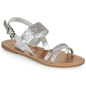 Zapatos Mujer Sandalias Chattawak MONIA Plateado