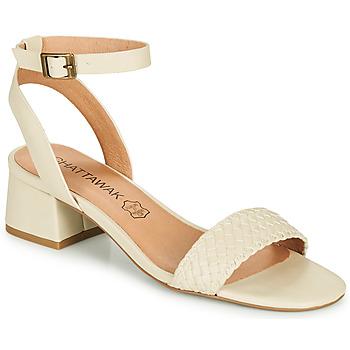Zapatos Mujer Sandalias Chattawak MUSCADE Crema