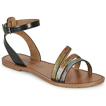 Zapatos Mujer Sandalias Chattawak PAGO Negro / Multicolor