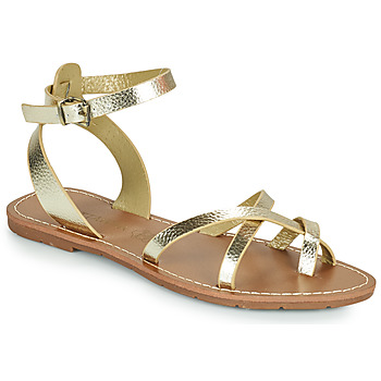 Zapatos Mujer Sandalias Chattawak PERLA Oro