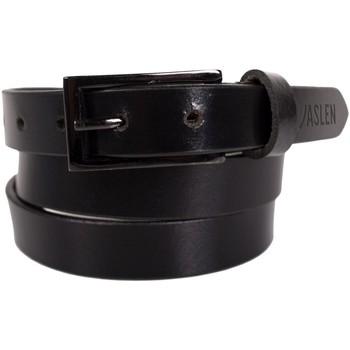 Accesorios textil Cinturones Jaslen Unisex Leather Negro