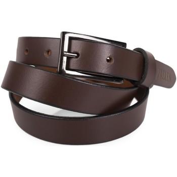 Accesorios textil Cinturones Jaslen Unisex Leather Marron
