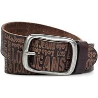 Accesorios textil Hombre Cinturones Lois Embossed leather Cuero