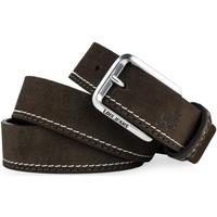 Accesorios textil Hombre Cinturones Lois Cinturón para hombre de piel genuina de la firma Marron