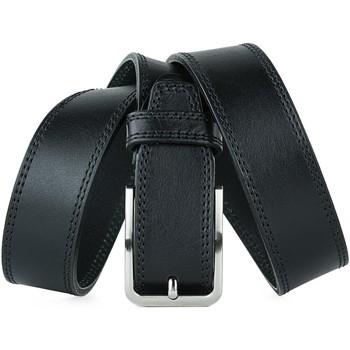 Accesorios textil Hombre Cinturones Jaslen Formal Leather Negro