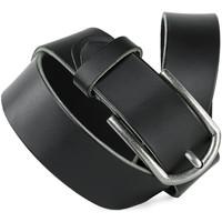 Accesorios textil Cinturones Jaslen Hebijon Leather Negro