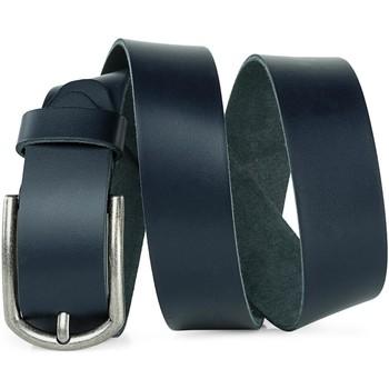 Accesorios textil Cinturones Jaslen Hebijon Leather Marrón grabado