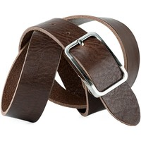 Accesorios textil Cinturones Jaslen Pin Leather Marron