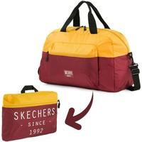 Bolsos Bolso de viaje Skechers MOVE Bolsa para gimnasio plegable de bolsillo integrado Oro Viejo