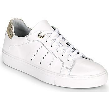 Zapatos Mujer Zapatillas bajas Myma PEGGUI Blanco / Oro