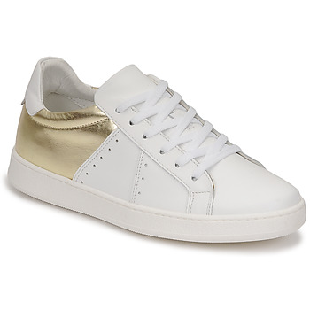 Zapatos Mujer Zapatillas bajas Myma PIGGE Blanco / Dorado